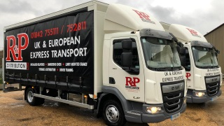 Daf 7.5t Curtain sided vehicles