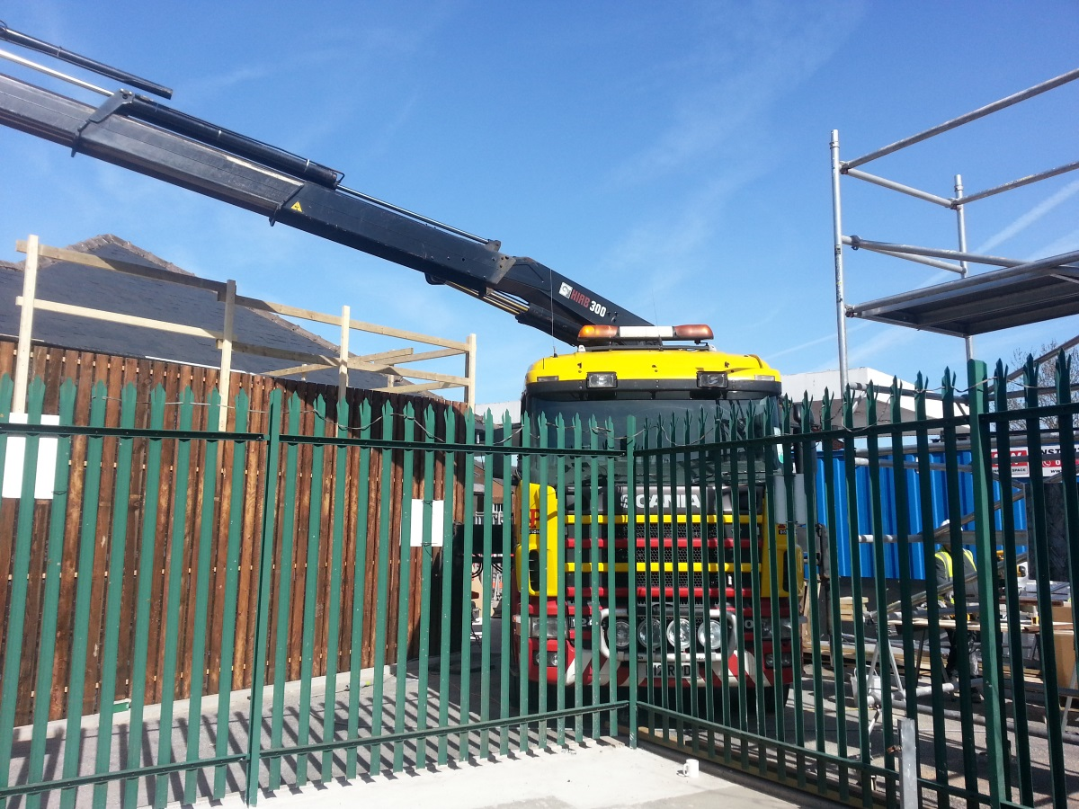 Lorry Mounted Crane